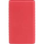 Силиконовый чехол для Xiaomi Power Bank 2 10000 (розовый)