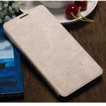 Чехол-книжка For Xiaomi Redmi 4A Mofi Case Flip Book Vintage Style (Beige)