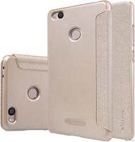 Чехол-книга для Xiaomi Redmi 5 Nillkin Sparkle Series Gold