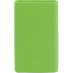 Силиконовый чехол для Xiaomi Power Bank 2 10000 (зеленый)