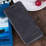 Чехол-книжка For  OnePlus 5 Mofi Case Flip Book Style Vintage (Dark Grey)
