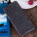 Чехол-книжка For Xiaomi Mi Note 3 Mofi Case Flip Book Vintage Style (Black)