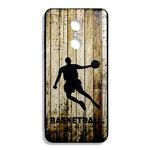 """Чехол Fashion Case для Xiaomi Redmi 5 Plus """"BasketballWood"""""""