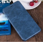 Чехол-книжка For Xiaomi Redmi 5 Mofi Case Flip Book Style Vintage (Dark Blue)