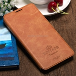 Чехол-книжка For Xiaomi Redmi 5 Mofi Case Flip Book Style Vintage (Brown)