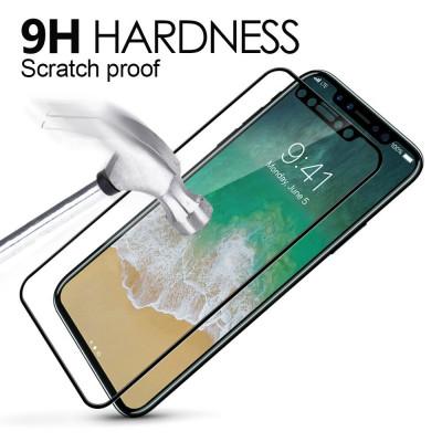 Противоударное стекло Apple iPhone 12 (6.1) черный