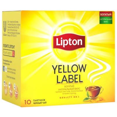 Чай черный Lipton в пакетиках