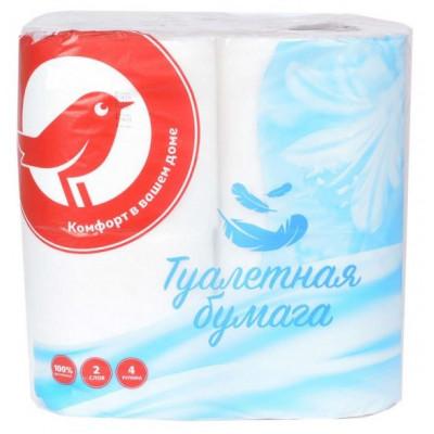 Туалетная бумага, 4 рулона